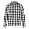 Men's Tops Weird Fish Currow Long Sleeve Brushed Check Shirt Dark Navy Size S
