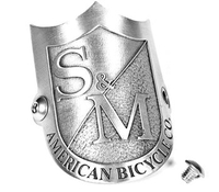 Extreme Sports  - S&M Head tube badge