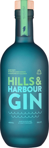 Crafty Distillery - Hills & Harbour Gin 70cl Bottle