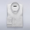 Men's Clothing Stylish dress shirt with thin black stripes