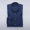 Men's Tops TMF - Mid blue business shirt in stretchy twill