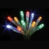 20 LED Multicolour Indoor Christmas Fairy Lights Battery 2m