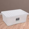 45L Wham Clear Crystal Stacking Storage Clear Box & Lid