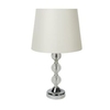 Glass Table Lamp - Cream