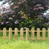 Mini Pickets Fence (Pack Of 4) 2.8m