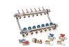 Underfloor Heating Manifold - 7 Port - Includes Fitting Accessories