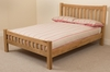Cottage Light Solid Oak 4ft6 Double Bed Frame