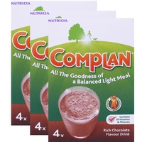 Complan Chocolate Triple Pack - 3x4x55g
