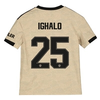 Football  - Manchester United Cup Away Shirt 2019 - 20 - Kids with Ighalo 25 printing
