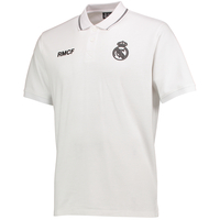 Football  - Real Madrid Polyester Training Polo Shirt - White - Mens