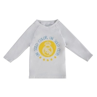 Football  - Real Madrid Sun Protection Beach T-Shirt - White - Infants