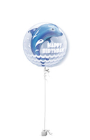 Birthday Splash Double Bubble Birthday Balloon Gift