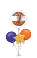 Other Occasions  - Fathers Day Personalised Fathers Day Bunch of Balloons Gift