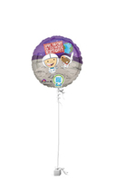 Birthday Gifts  - Space Boy QR Code Birthday Balloon Gift
