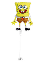 Other Occasions  - Spongebob Squarepants Good Luck Balloon Gift
