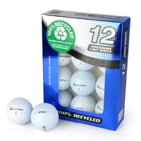 Golf  - Second Chance TaylorMade Mix Of TP5 & TP5X Recycled Golf Balls