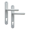 Fab & Fix 92pz Ashford uPVC Door Handles - 243mm (211mm fixings)