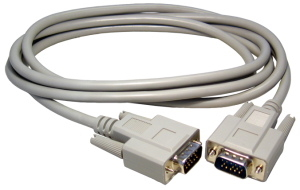- 4m Grey VGA HD15male to HD15 female cable