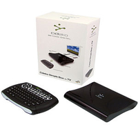 Cables  - Cideko Android HD Media Player with Wireless Keyboard Black