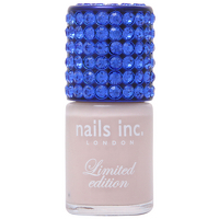 Cosmetics  - nails inc. Crystal Colour Cap Brown Leather Nail Varnish