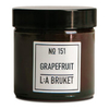 Fragrance L:A BRUKET Small Grapefruit Scented Candle 50g