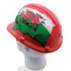 Garden Tools National Flags Hard Hats-Wales