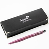 Personalised Pink Pen with Stylus Tip