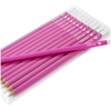 Personalised Pink Pencils with Heart Motif